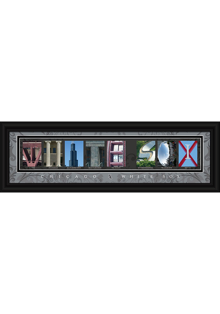 Chicago White Sox 8x24 Framed Posters - Image 1