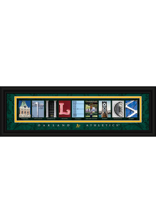 Oakland Athletics 8x24 Framed Posters