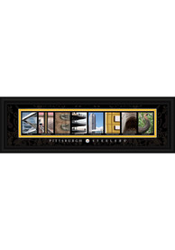 Pittsburgh Steelers 8x24 Framed Posters
