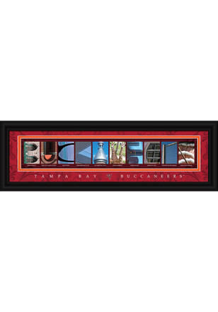 Tampa Bay Buccaneers 8x24 Framed Posters