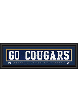 BYU Cougars 8x24 Framed Posters