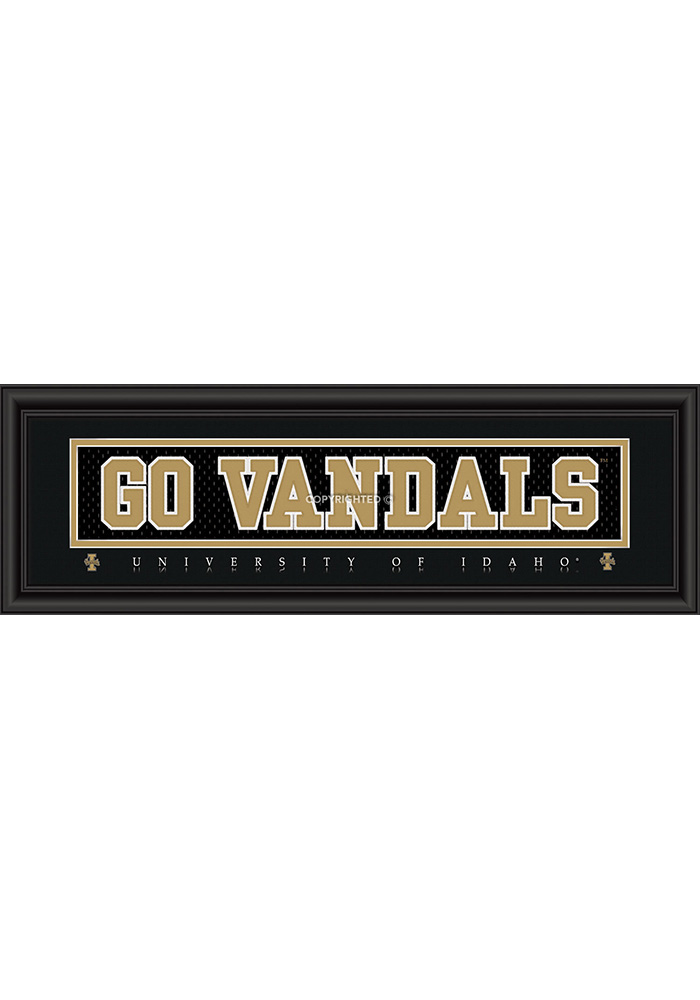 Idaho Vandals 8x24 Framed Posters - Image 1