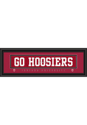 Indiana Hoosiers 8x24 Framed Posters