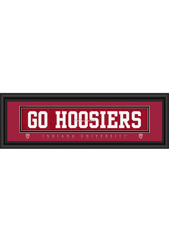 Indiana Hoosiers 8x24 Framed Posters - Image 1