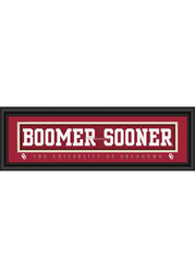 Oklahoma Sooners 8x24 Framed Posters
