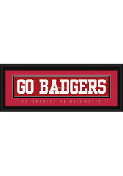 Wisconsin Badgers 8x24 Framed Posters