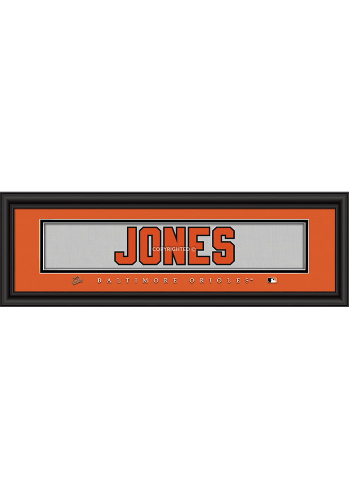 Baltimore Orioles 8x24 Framed Posters - Image 1