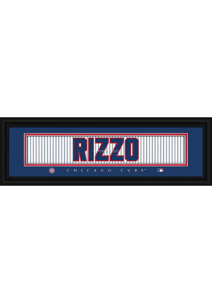 Chicago Cubs 8x24 Framed Posters - Image 1