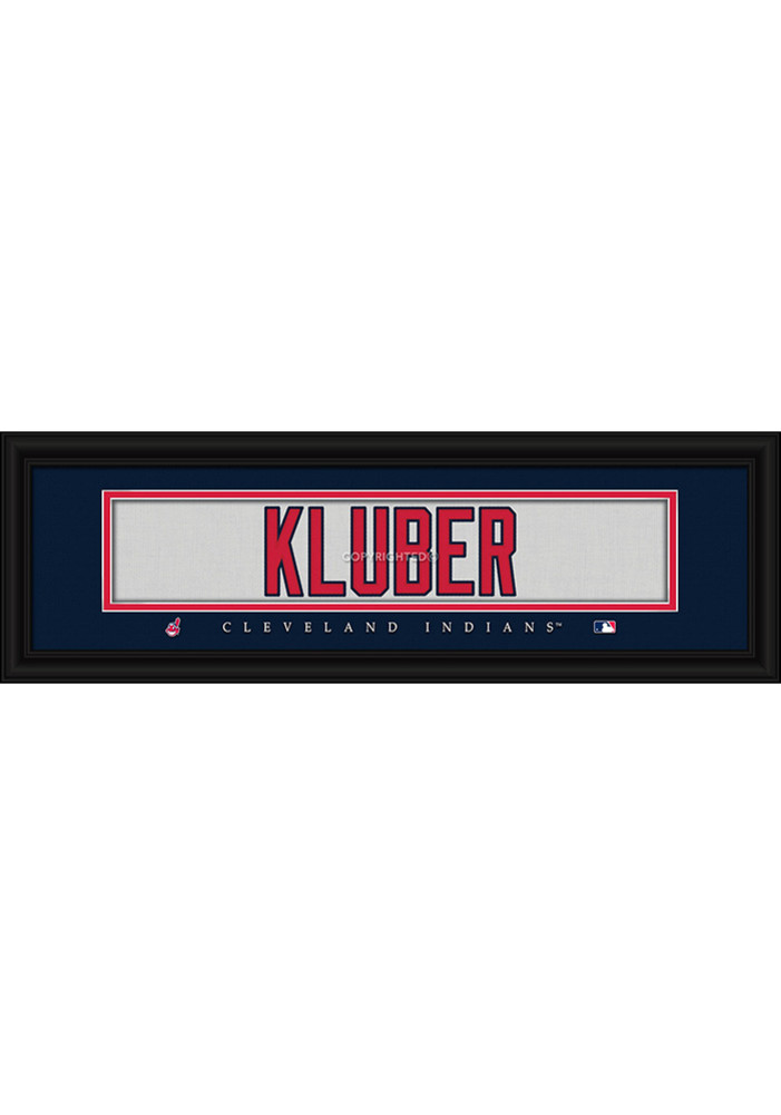 Cleveland Indians 8x24 Framed Posters - Image 1