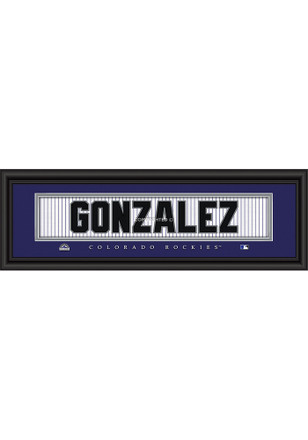 Colorado Rockies 8x24 Framed Posters