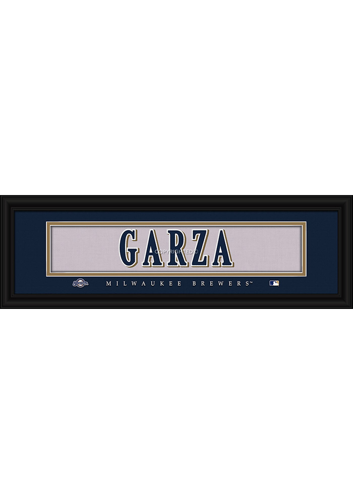 Milwaukee Brewers 8x24 Framed Posters - Image 1