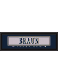 Milwaukee Brewers 8x24 Framed Posters