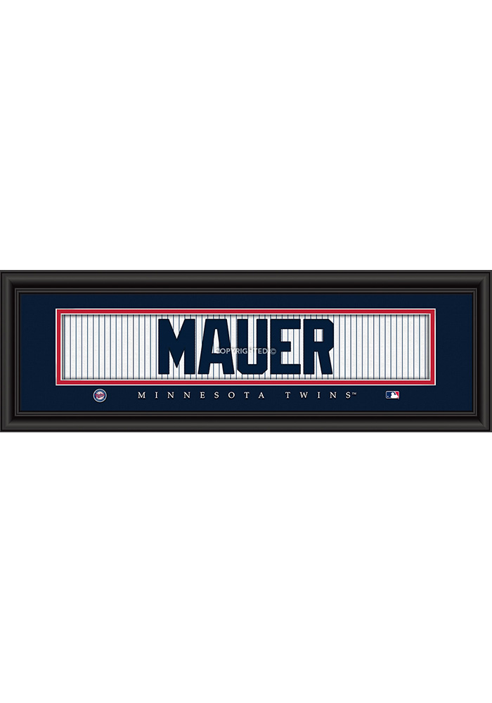 Minnesota Twins 8x24 Framed Posters - Image 1