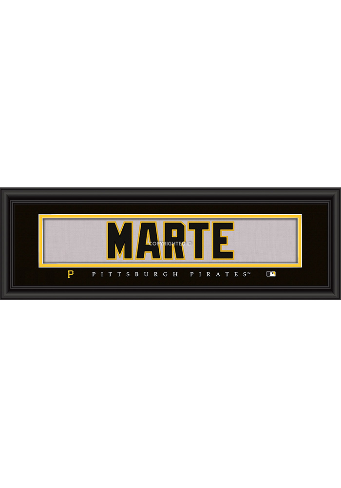 Pittsburgh Pirates 8x24 Framed Posters - Image 1