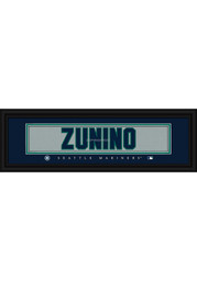 Mike Zunino Seattle Mariners 8x24 Framed Posters