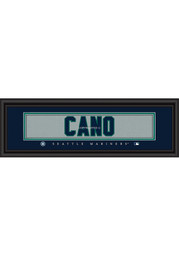 Robinson Cano Seattle Mariners 8x24 Framed Posters