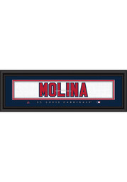 Yadier Molina St Louis Cardinals 8x24 Framed Posters