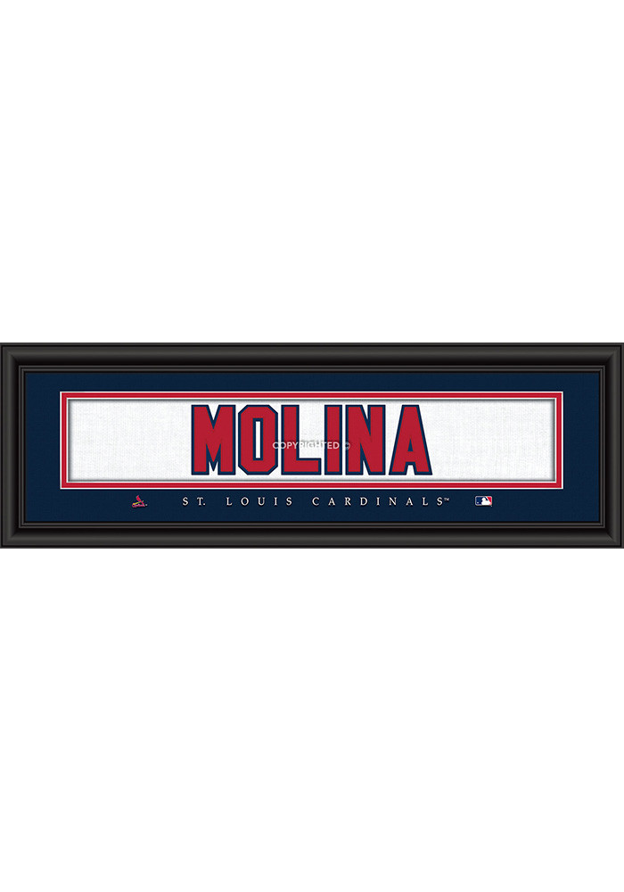 St Louis Cardinals 8x24 Framed Posters - Image 1