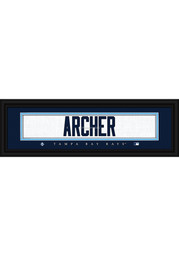 Chris Archer Tampa Bay Rays 8x24 Framed Posters