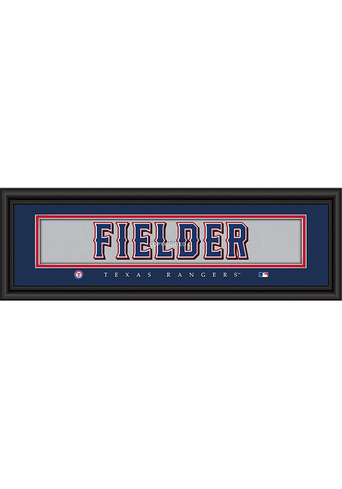 Texas Rangers 8x24 Framed Posters - Image 1
