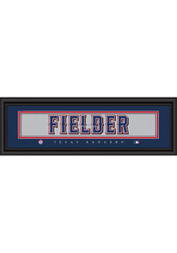 Texas Rangers 8x24 Framed Posters