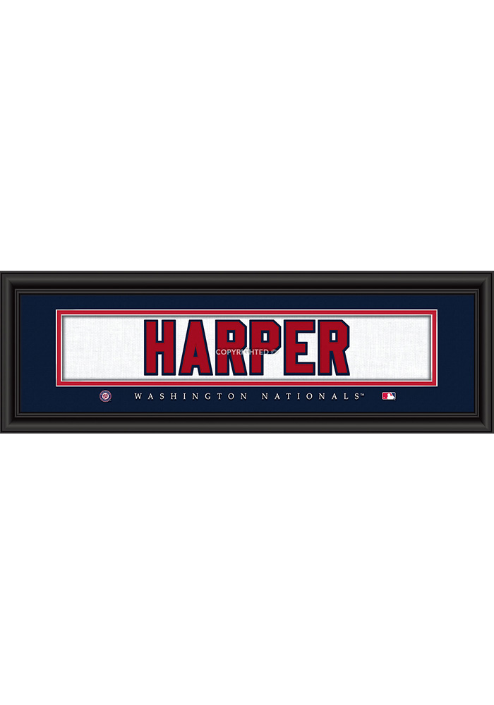 Washington Nationals 8x24 Framed Posters - Image 1