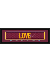 Kevin Love Cleveland Cavaliers 8x24 Signature Framed Posters
