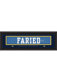 Kenneth Faried Denver Nuggets 8x24 Signature Framed Posters
