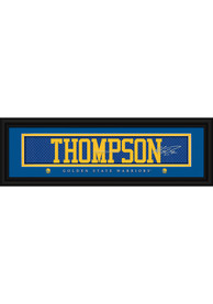 Klay Thompson Golden State Warriors 8x24 Signature Framed Posters