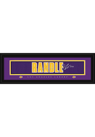 Julius Randle Los Angeles Lakers 8x24 Signature Framed Posters