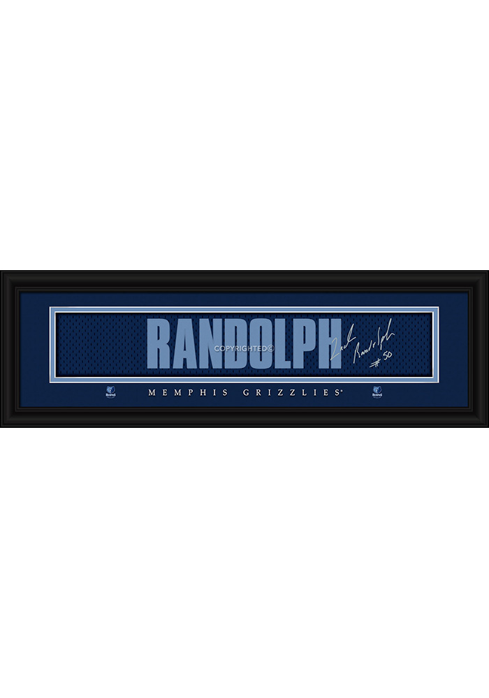 Zach Randolph Memphis Grizzlies 8x24 Signature Framed Posters - Image 1