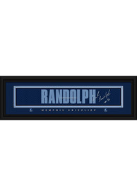 Zach Randolph Memphis Grizzlies 8x24 Signature Framed Posters