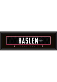 Udonis Haslem Miami Heat 8x24 Signature Framed Posters