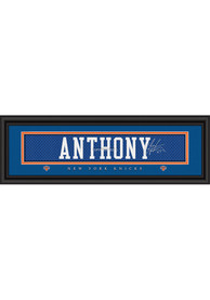 Carmelo Anthony New York Knicks 8x24 Signature Framed Posters