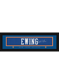 Patrick Ewing New York Knicks 8x24 Signature Framed Posters