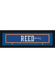 Willis Reed New York Knicks 8x24 Signature Framed Posters