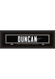 Tim Duncan San Antonio Spurs 8x24 Signature Framed Posters