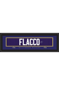 Joe Flacco Baltimore Ravens 8x24 Signature Framed Posters