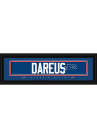 Marcel Dareus Buffalo Bills 8x24 Signature Framed Posters