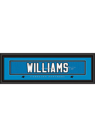 DeAngelo Williams Carolina Panthers 8x24 Signature Framed Posters