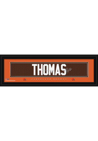 Joe Thomas Cleveland Browns 8x24 Signature Framed Posters