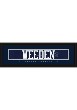 Dallas Cowboys 8x24 Framed Posters
