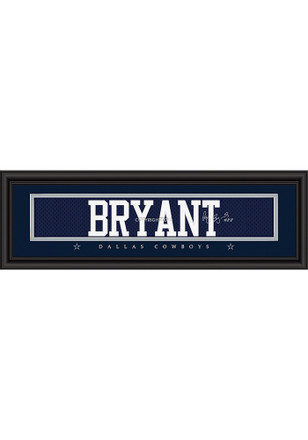Dez Bryant Dallas Cowboys 8x24 Signature Framed Posters