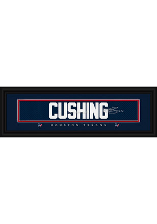Brian Cushing Houston Texans 8x24 Signature Framed Posters
