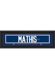 Robert Mathis Indianapolis Colts 8x24 Signature Framed Posters