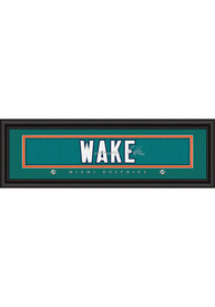 Cameron Wake Miami Dolphins 8x24 Signature Framed Posters