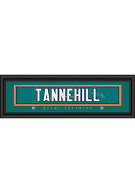 Ryan Tannehill Miami Dolphins 8x24 Signature Framed Posters