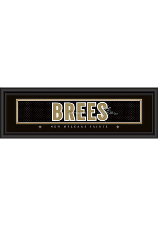 New Orleans Saints 8x24 Framed Posters