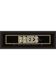 Drew Brees New Orleans Saints 8x24 Signature Framed Posters