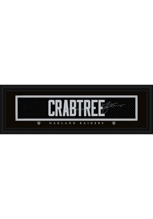 Michael Crabtree Oakland Raiders 8x24 Signature Framed Posters